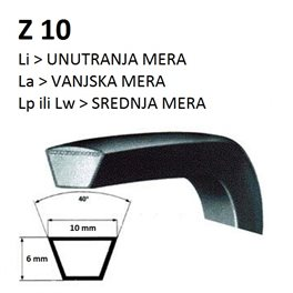 REMEN 1375 xZ10 Li VEŠ MAŠINE (Lw Lp 1397mm/ La 1413mm)